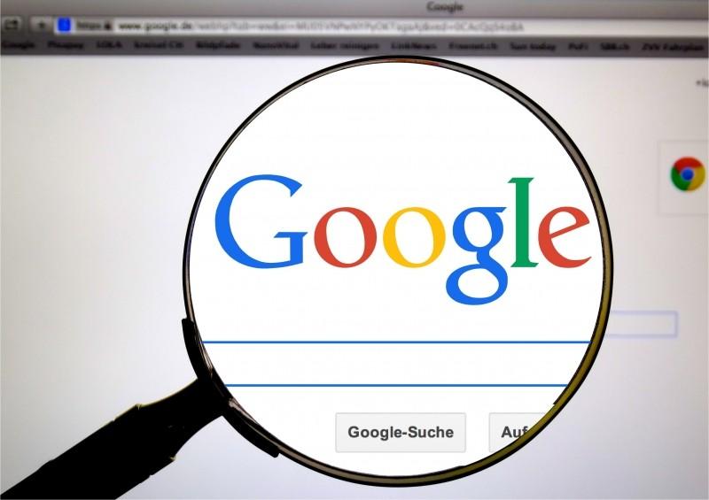 Google on Computer Image